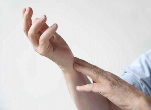 Arm swinging hand wiggling causes