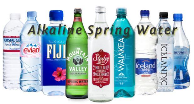 alkaline water contents